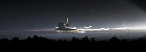 Совалката Атлантис се приземи за последен път
