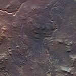 Mars Express е заснел делта на Марс, в кратера Еберсвалд