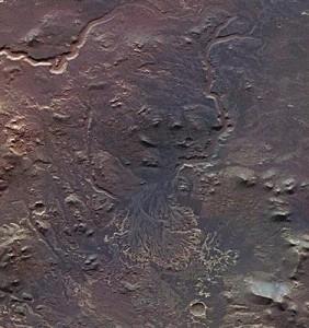 Делта в кратера Еберсвалд