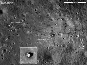 Мястото на кацане на Аполо 17 (apolo 17 area)