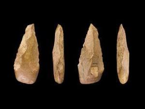 Оръдия на труда от по-напредналата, Ашелска култура