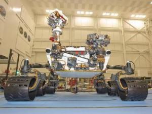 марсоходът MSL (Mars Science Laboratory)